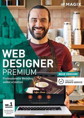MAGIX Web Designer 15 Premium BOX (DVD), Vollversion