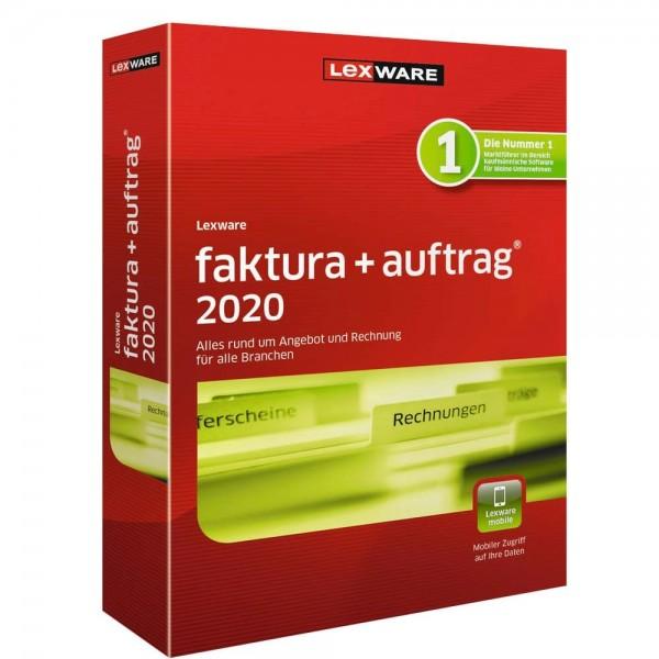 Lexware Faktura+Auftrag 2020, 365 Tage Laufzeit, Download