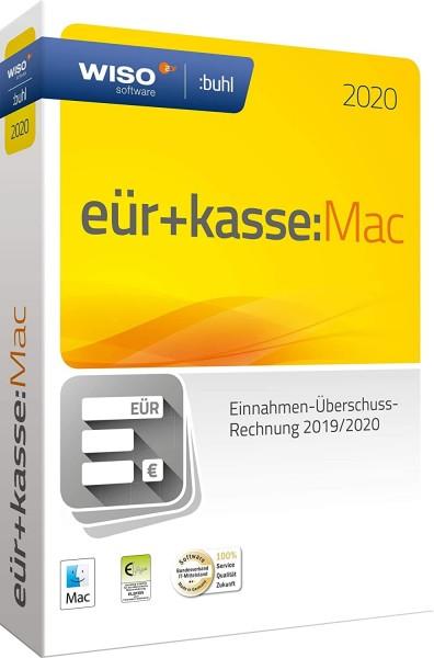 WISO EÜR + Kasse:MAC 2020, für die Geschäftsjahre 2019/2020, Download