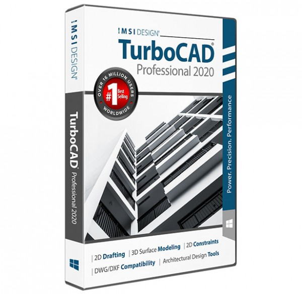 TurboCAD 2020 Professional, English