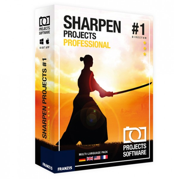 Sharpen projects professional Mac OS