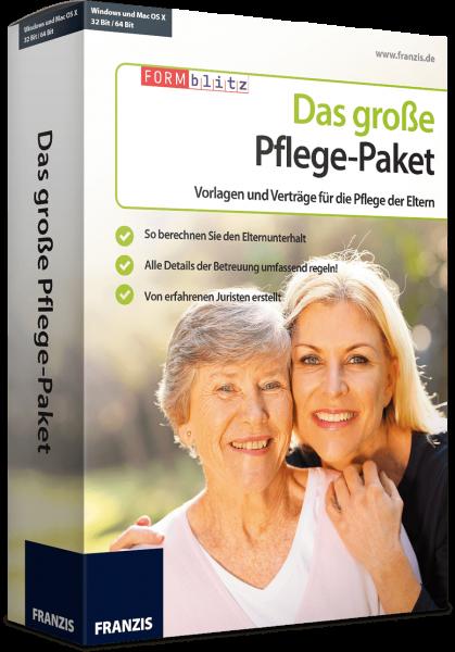 Franzis Das große Pflege-Paket