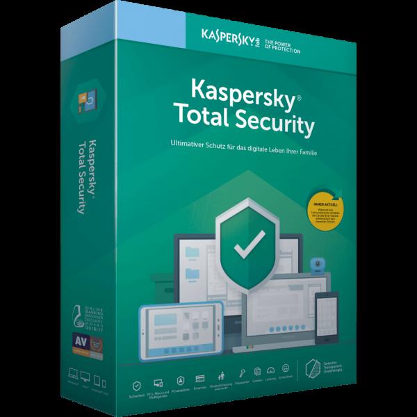 Kaspersky Total Security 2020 Multi Device PC MAC Smartphone Tablet