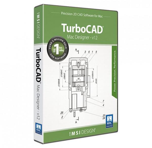 TurboCAD Mac Designer 2D V12, English