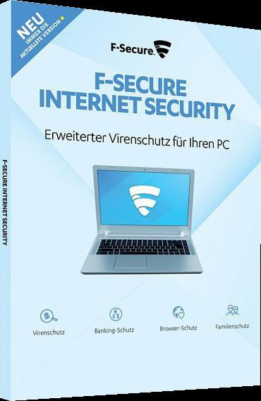 F-Secure Internet Security 2020, 1 PC 1 Jahr, Vollversion