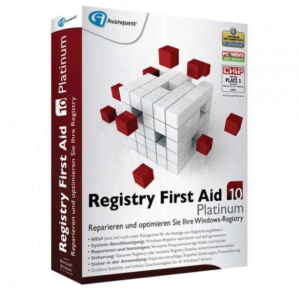 Avanquest Registry First Aid 10 Platinum