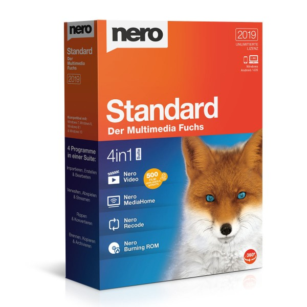 Nero 2019 Standard, Vollversion