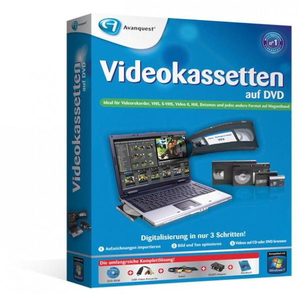Videokassetten auf DVD