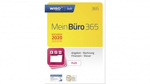 WISO Mein Büro 365 Plus (2020), 1 Jahreslizenz, Vollversion, [Download]