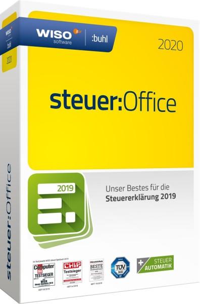 WISO steuer:Office 2020, für die Steuererklärung 2019