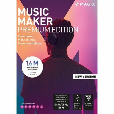 MAGIX Music Maker 2019 Premium Edition, Win