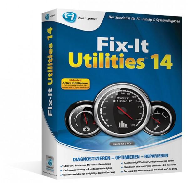Avanquest Fix-It Utilities 14