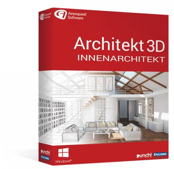 Avanquest Architekt 3D 20 Innenarchitekt Windows