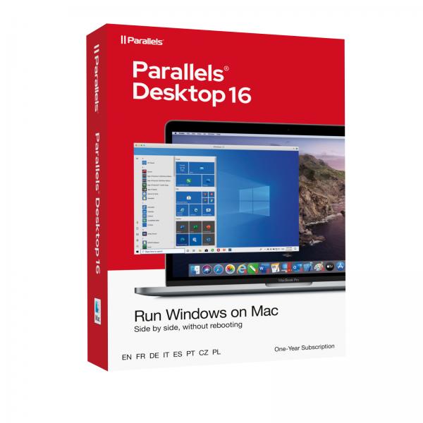 Parallels Desktop 16 für MAC Standard Edition PKC/BOX