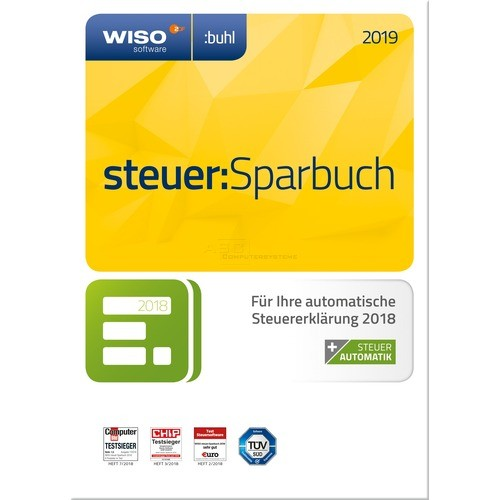 WISO Steuer:Sparbuch 2019 Steuerjahr 2018, Vollversion