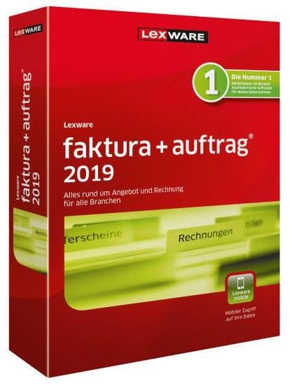 Lexware Faktura+Auftrag 2019, 365 Tage Laufzeit, Download
