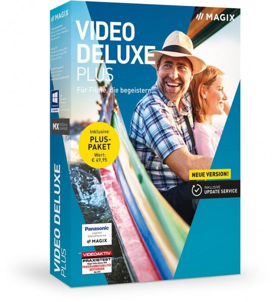 MAGIX Video Deluxe 2019 Plus