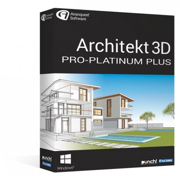 Avanquest Architekt 3D 20 Pro-Platinum Plus Windows