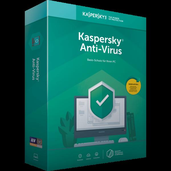 Kaspersky Antivirus 2020, Download, Vollversion, 1 Jahr