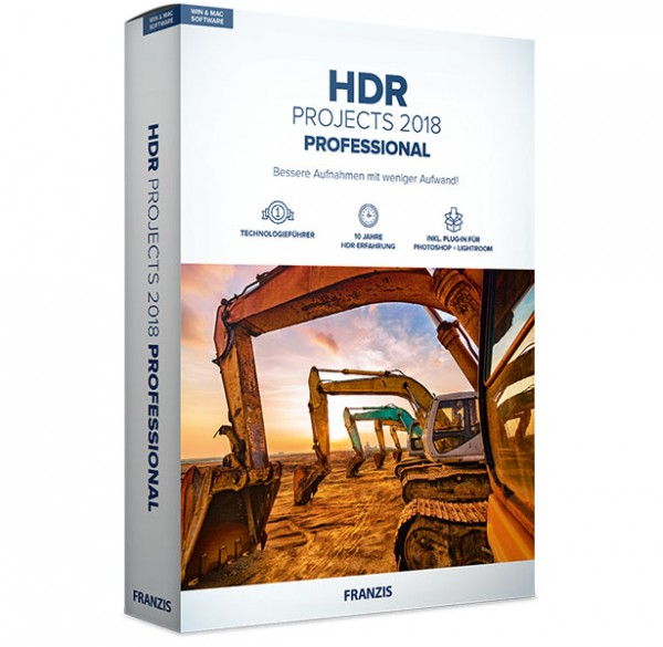 Franzis HDR projects 2018 professional