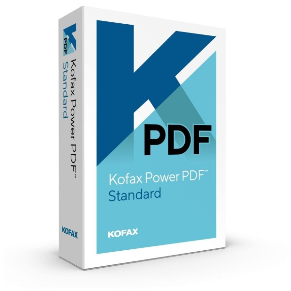 Kofax Power PDF Standard 3.0 Windows
