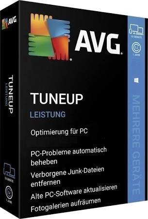 AVG TuneUp 2020 Vollversion 1 Jahr