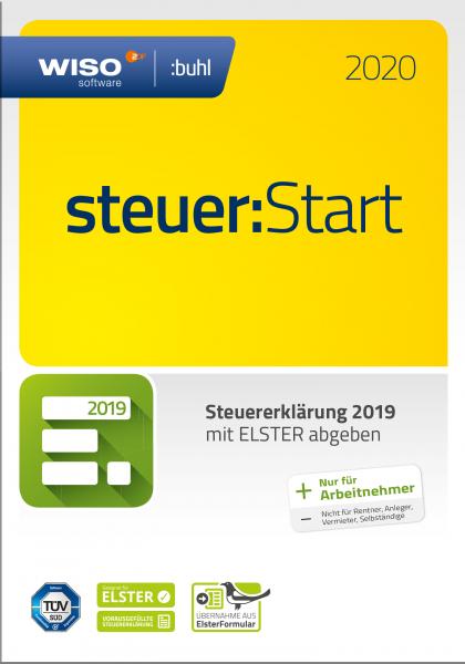 WISO Steuer:Start 2020 Steuerjahr 2019, Vollversion