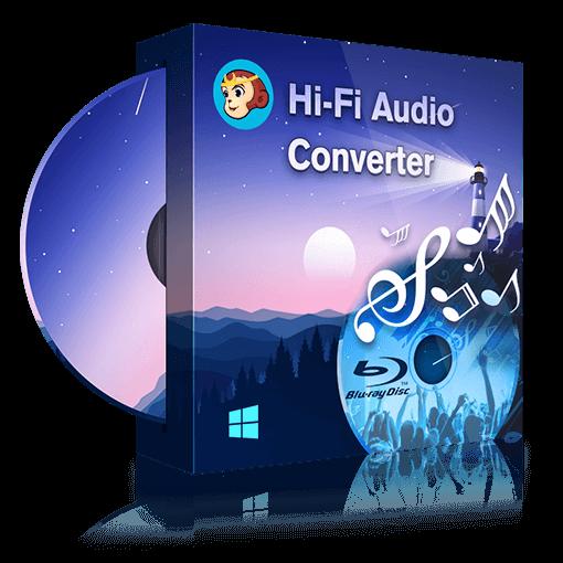 DVDFab Hi-Fi Audio Converter Windows