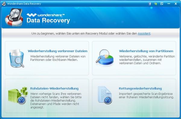 Wondershare Data Recovery MacOS