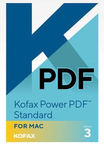 Kofax Power PDF Standard 3.0 MAC Multilanguage
