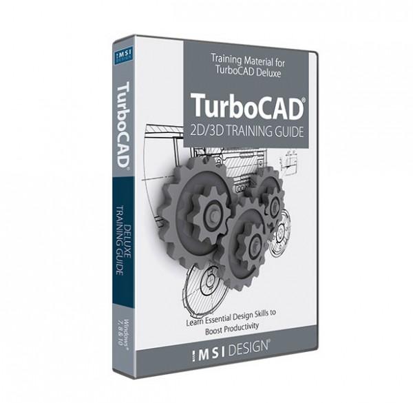 2D/3D Training TurboCAD Deluxe 2020, English