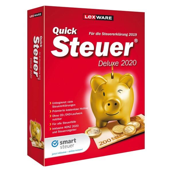 Lexware QuickSteuer Deluxe 2020, für die Steuererklärung 2019