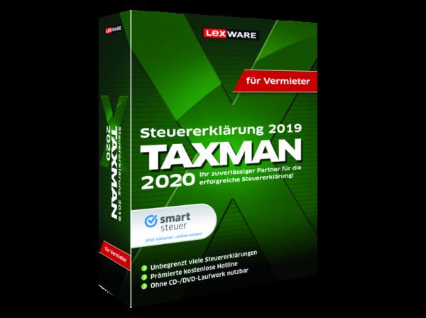 Lexware Taxman 2020 für Vermieter