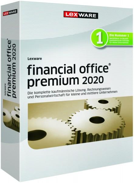 Lexware Financial Office Premium 2020, 365 Tage Laufzeit, Download