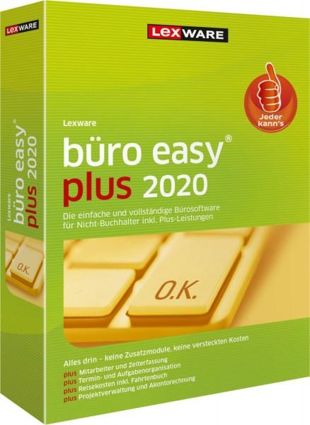 Lexware büro easy Plus 2020, 365 Tage Laufzeit, Download