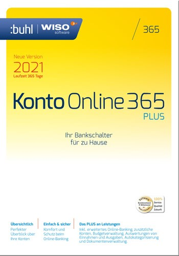 WISO Konto Online Plus 365 (2021)