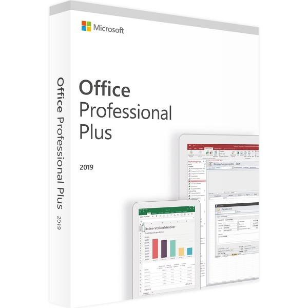 Microsoft Office 2019 Professional Plus Multilanguage Vollversion