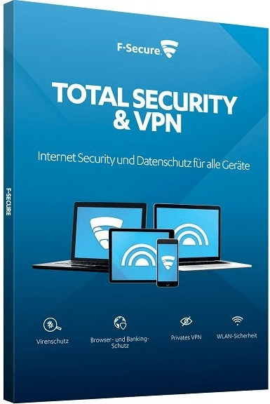 F-Secure Total Security & VPN 2020, Download, Vollversion