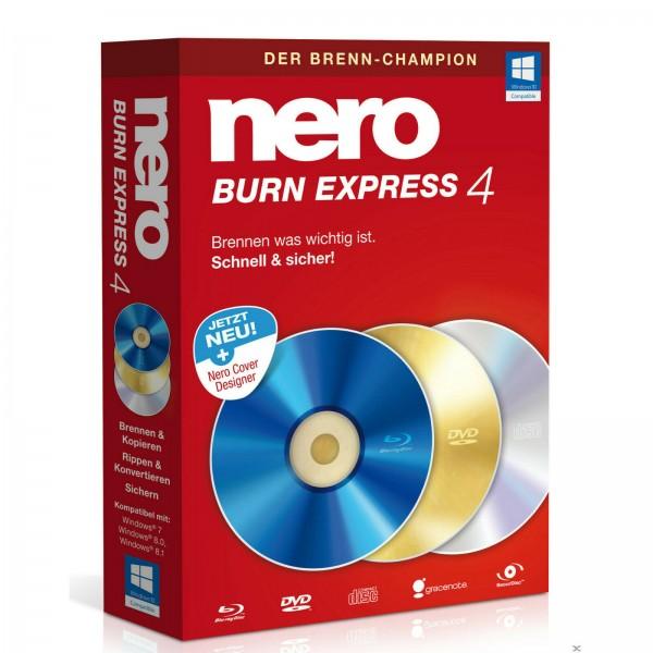 Nero Burn Express 4, 1 User, Win