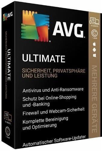 AVG Ultimate 2020 Multi Device 10 Geräte