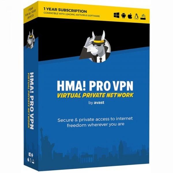 Hide My Ass Pro VPN by Avast Unbegrenzte Anzahl an Geräten 1 Jahr VPN Software