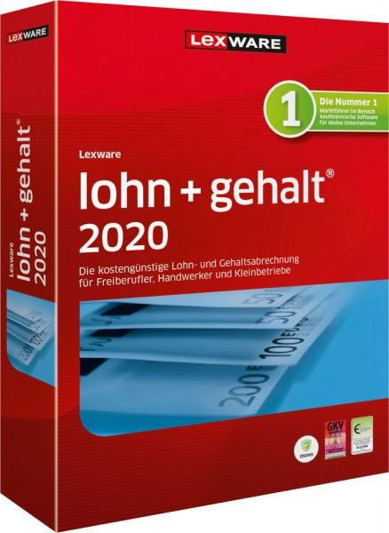 Lexware Lohn + Gehalt 2020, 365 Tage Laufzeit, Download