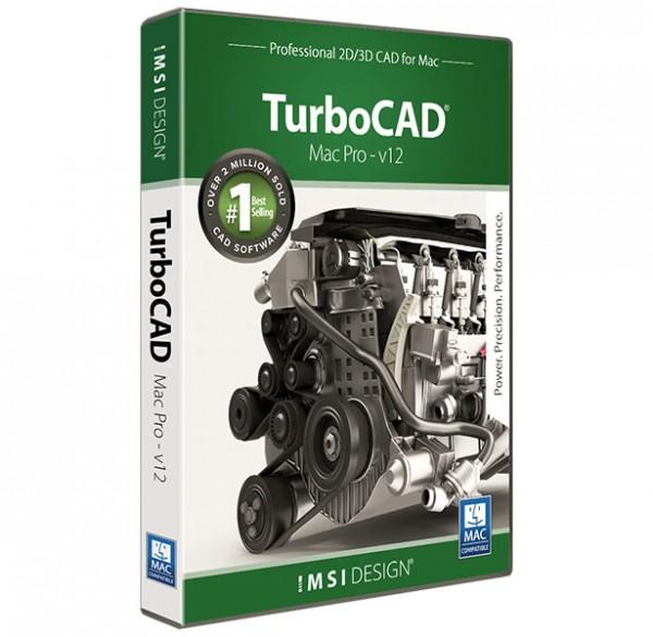 TurboCAD Mac Pro V12, English