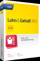 WISO Lohn & Gehalt 365 [2021], 1 Jahreslizenz, Vollversion, [Download]