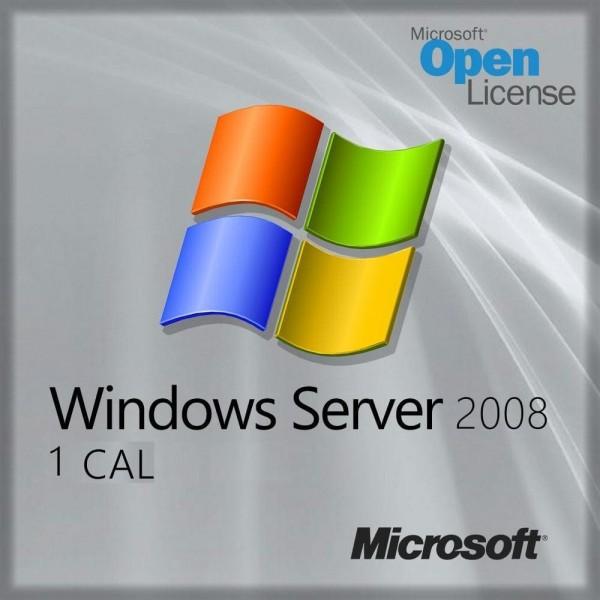 Microsoft Windows Server 2008, 1 Device CAL
