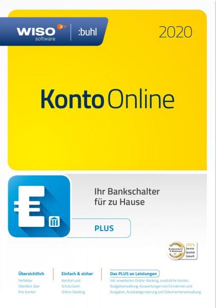 WISO Konto Online Plus 2020, Dauerlizenz, Box